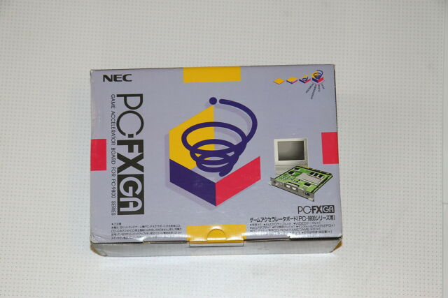NEC PC Engine PCFX GA accelerator board for PC 9800 console import Japon