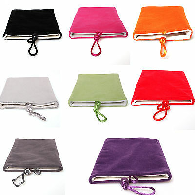 NEW Soft Cloth Sleeve Velvet Sock Case Bag Pouch For Samsung Galaxy Note2 N7100