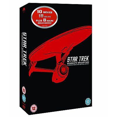 Star Trek: The Movies 1-10 (Box Set) [DVD]