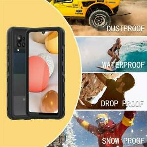 Dust/Shock Proof Waterproof Case w/ Screen Cover For Samsung Galaxy A42 5G Phone