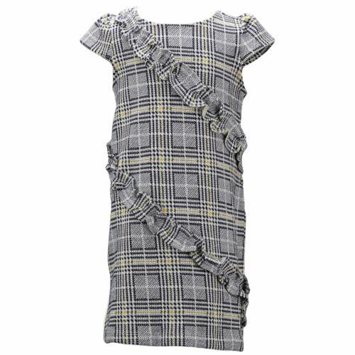Janie And Jack Girl/'s Plaid Ruffle Dress Playwear
