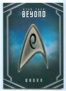 Details About Zoe Saldana Uhura Uniform Pin Card Ub4 Star Trek Beyond