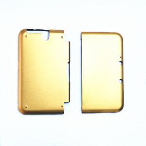 Gold-Aluminium-Metall-Schuetzend-Huelle-fuer-Nintendo-3DS-LL-3DS-XL