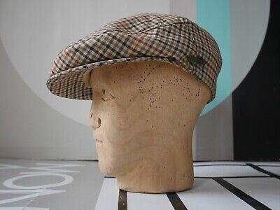 Stetson Darien Berretto Saracinesca 58 M 80er Cappello Made In Italy True Vintage Flat Cap-mostra Il Titolo Originale