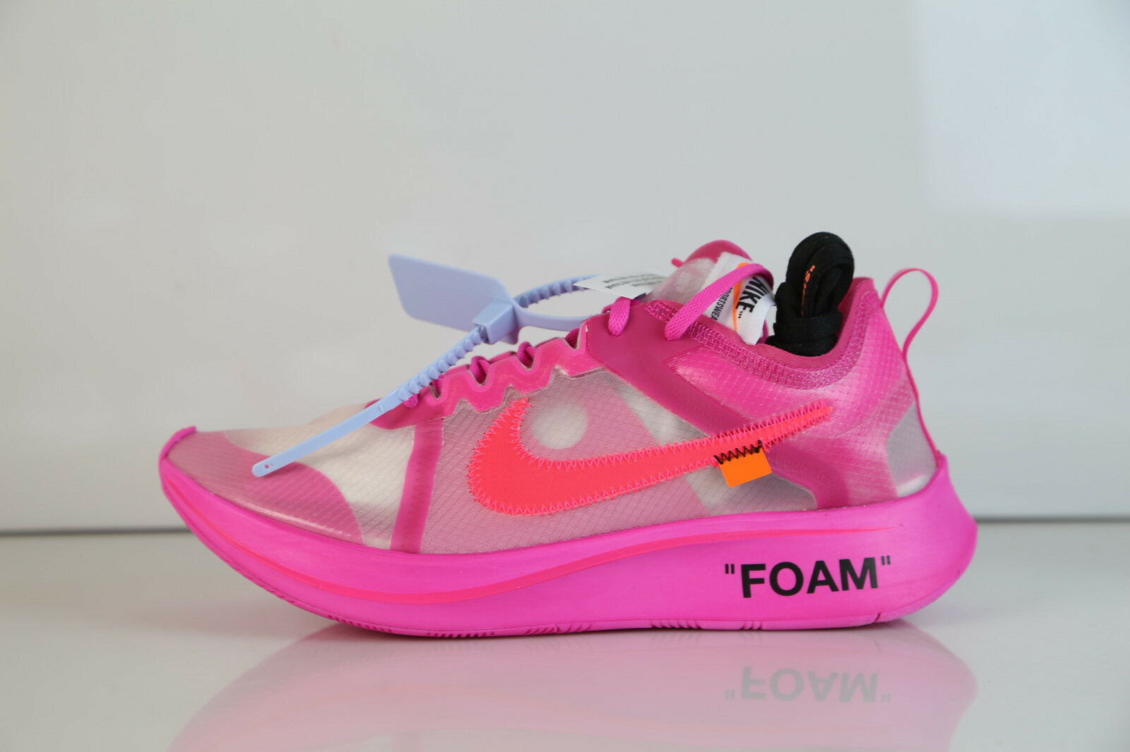 Nike Off-White Virgil Abloh The Ten Zoom Fly Tulip Pink AJ4588-600 5-13 ow