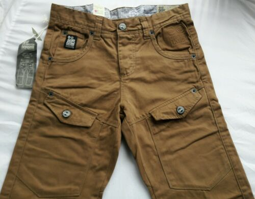 MENS BRANDED CROSSHATCH JEANS/_CHINO STYLE/_STRAIGHT LEG/_W28/_L32/_BOYS-100/% COTTON