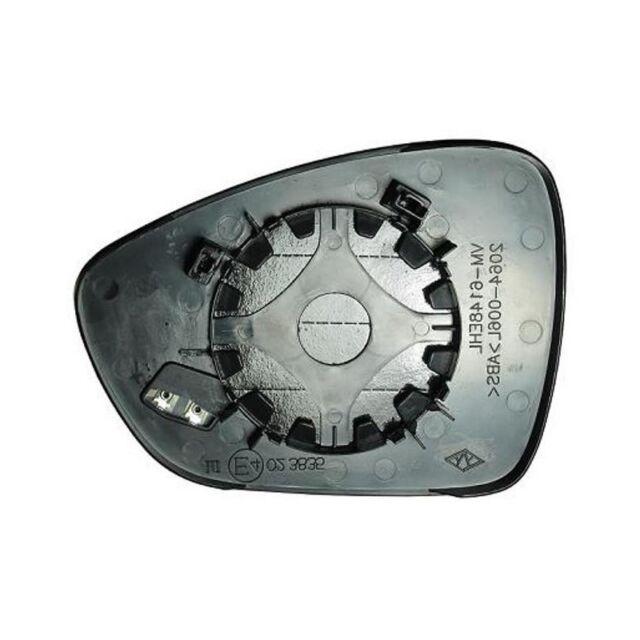308 2012 in poi Piastra specchietto termica con vetro dx Peugeot 208-2008