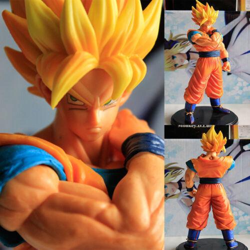 22CM Gokou Dragon Ball Z Super Saiyan Boneco de PVC Brinquedo Boneca