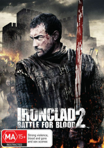 1 of 1 - Ironclad 2 - Battle For Blood (DVD, 2014) R4 PAL NEW & SEALED FREE POST