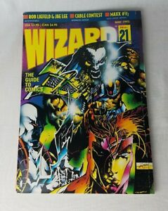 WIZARD-The-Guide-to-Comics-Magazine-21-May-1993