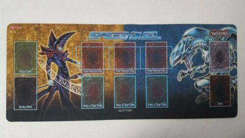 YuGiOH UNUSED Blue Eyes Dragon Dark Magician Official Speed Duel PROMO Playmat