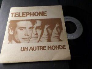 TELEPHONE-VINYLE-45-TOURS-UN-AUTRE-MONDE-VINYL-VINTAGE