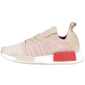 Adidas NMDR1 Stlt PK Primeknit SCARPE DONNE Sneaker donna lino bianco cq2030