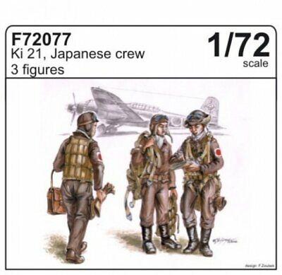 CMK Tchèque Masters Ki-21 japonais Crew WWII 1//72 Scale Resin figure kit F72077