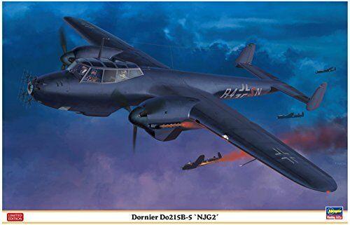 Hasegawa 1 48 Dornier Do215b-5 Njg2 Kit Modello Nuovo da Giappone