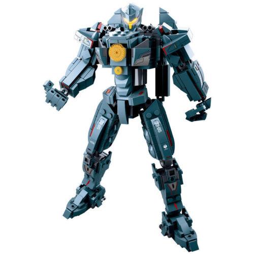 12*24CM GIPSY DANGER Action figure da collezione modello Building Blocks giocattolo regalo