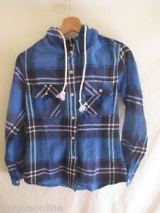 Chemise-Abercrombie-amp-Fitch-Bleu-Taille-S-a-55