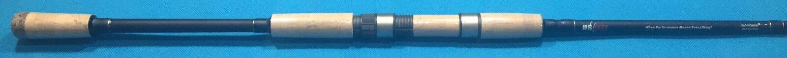 NEW  U.S. Reel Fishing Rod 8' 6  - Super Caster System - SCSXL86 - Very Rare