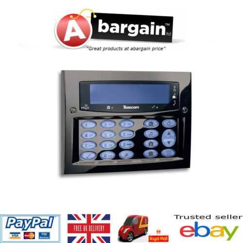 Texecom Premier Flush Elite FMK Gunmetal Flush Alarm Keypad DBD-0125 Grade 3
