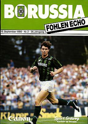 Borussia Dortmund Programm 1990//91 VfL Bochum