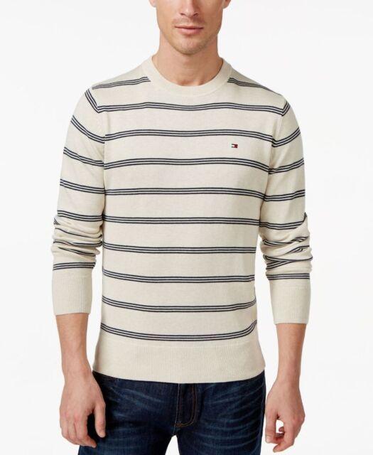 da225ce9 Tommy Hilfiger Signature Striped Crew Neck Sweater Small Td171 UU 05 ...