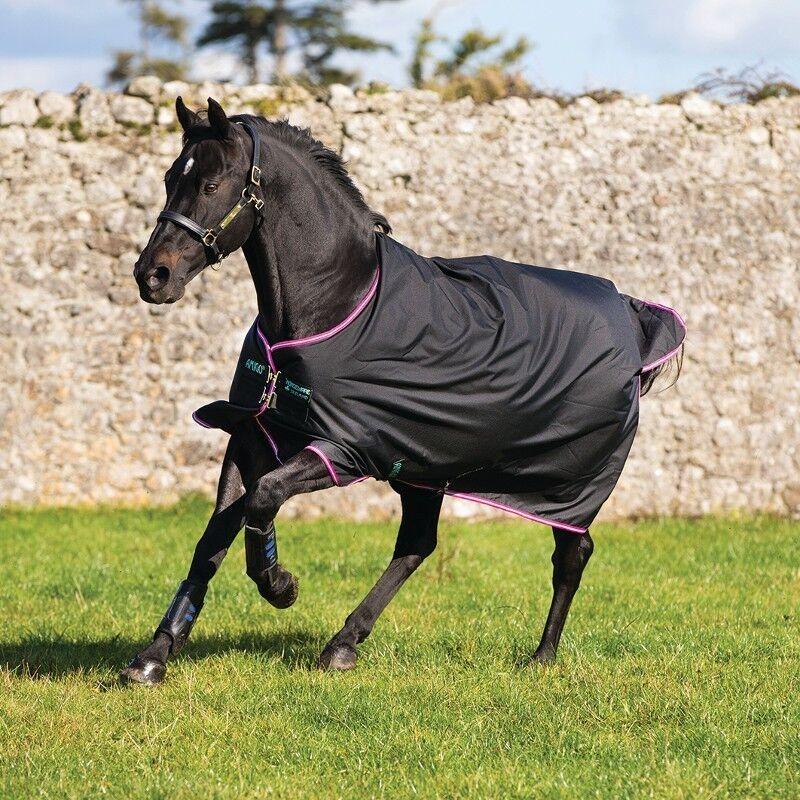 Cavaliers Amigo Hero 6 Medium 200 g en negro púrpura et la menthe couverdeure de la
