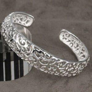 ASAMO-Eleganter-Damen-Armreif-925-Sterling-Silber-plattiert-Armband-AR1144