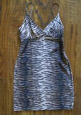 110d19c03c Nordstrom Topshop Slip Dress Size 4 Cheetah Animal Print Spaghetti ...