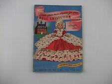 Vintage 1952 COLONIAL Dolls Lingerie Lou CATALOG Pamphlet Brochure