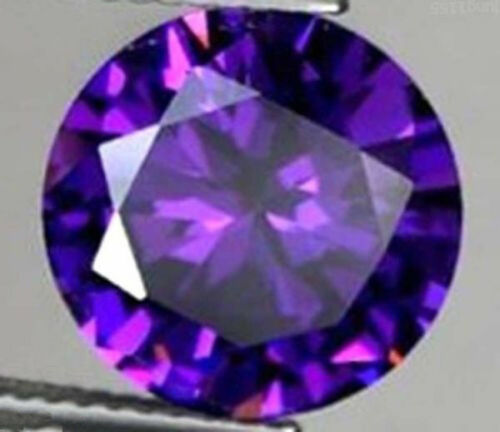 49.02 CT AAA Natural Purple Amethyst Gem Diamonds Round Cut 20 MM VVS Loose Gem