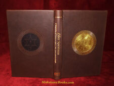 LIBER SPIRITUUM: Angel and Spirit Magick, Grimoire, Golden Dawn DELUXE LEATHER