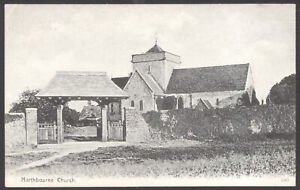 Northbourne-Deal-Kent-St-Augustine-039-s-Church-Northbourne-Early-Postcard