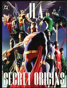 GN-TPB-JLA-Secret-Origins-Alex-Ross-Tabloid-Size-Justice-League-Of-America