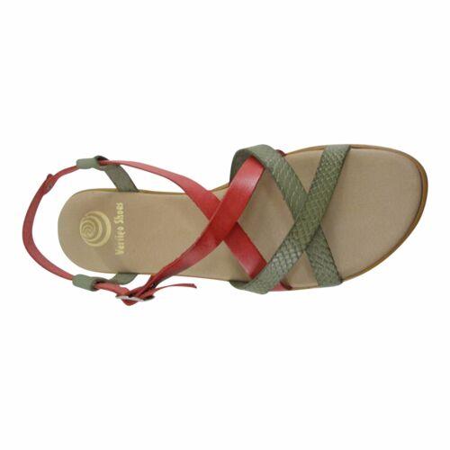 Schuhe Große Flache Sandalen Größe In Spain Riemchen Made 11 Große zfnqWH