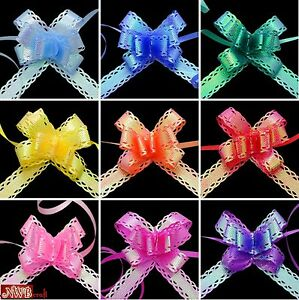 10-Small-Luxury-Pull-Bows-with-AB-Coating-Wedding-Party-Xmas-Gift-Wrap