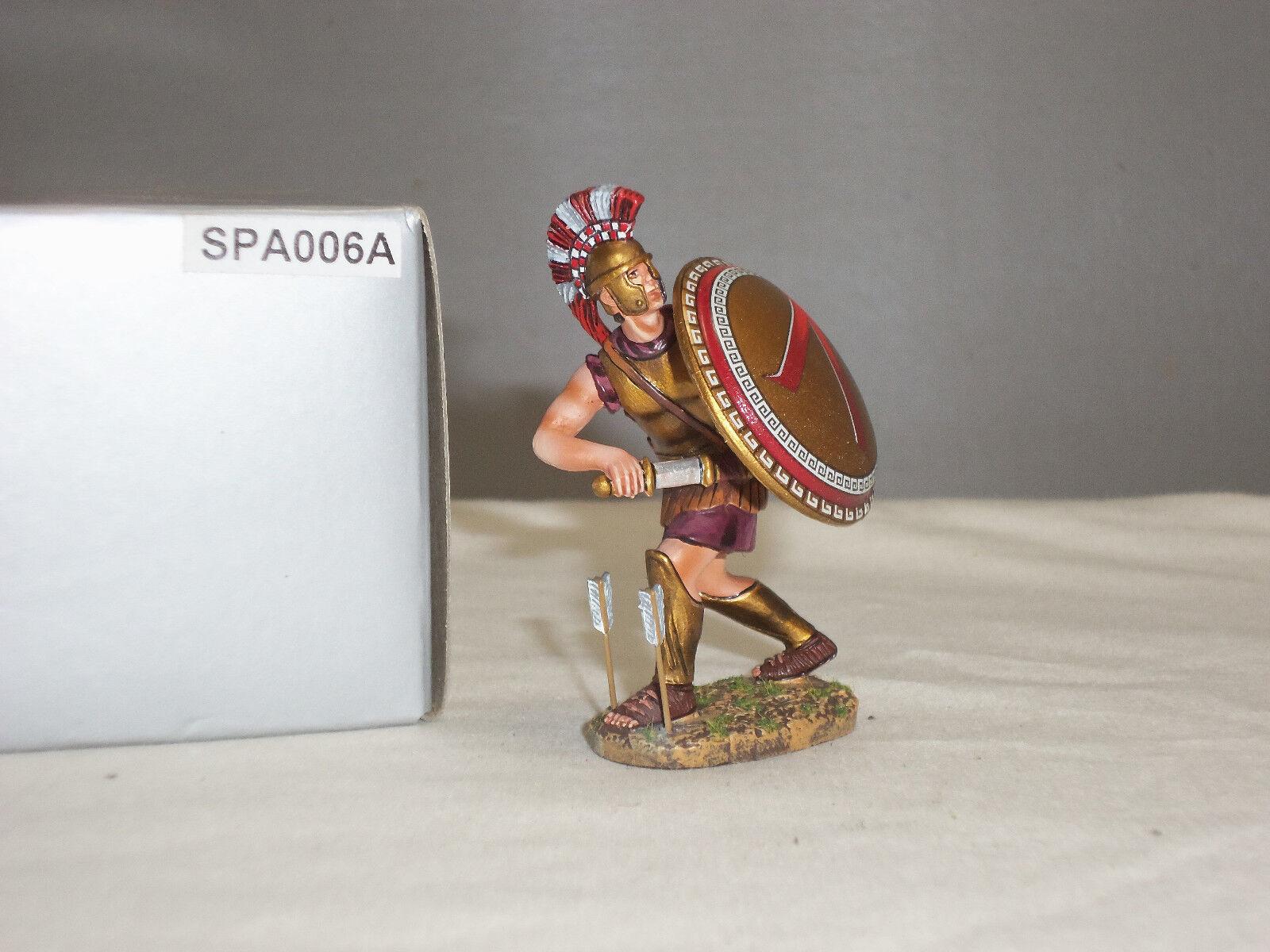 THOMAS GUNN SPA006A SPARTAN WARRIOR DRAWING SWORD METAL TOY SOLDIER FIGURE