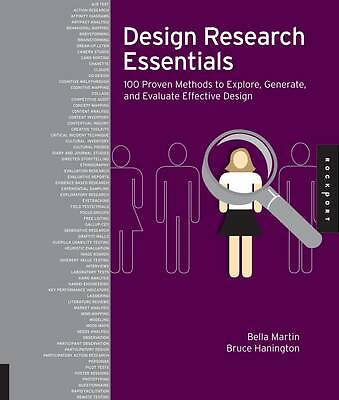 1 of 1 - Universal Methods of Design: 100 Ways to Research Complex Problems,-ExLibrary