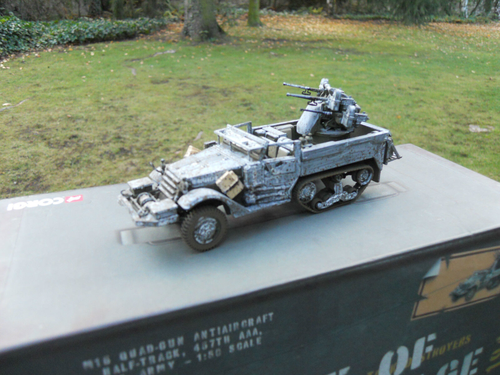 CORGI MILITAIRE REF CC 60405 HALF TRACK M 16 AFFUT QUADRUPLE BATTLE OF THE BULGE | Une Performance Fiable