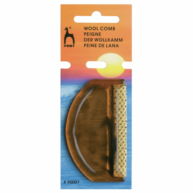 Pony Wool Comb For Removing Bobbles /& Lint From Clothing