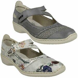 Stil Mary Freizeit Rieker Damen Schuhe Jane 41399