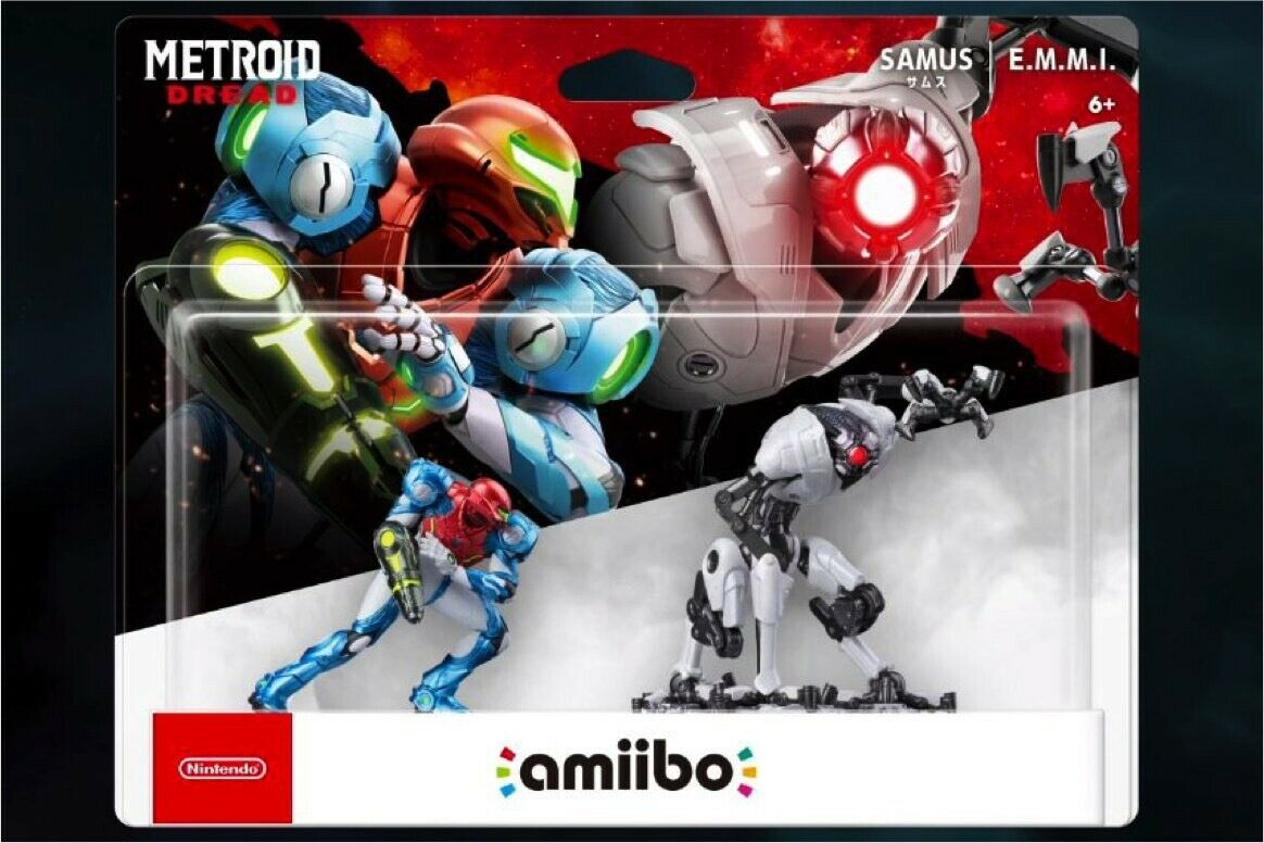 Samus and E.M.M.I. Double Pack amiibo (Metroid Dread Collection) 9th Oct Ship ✅