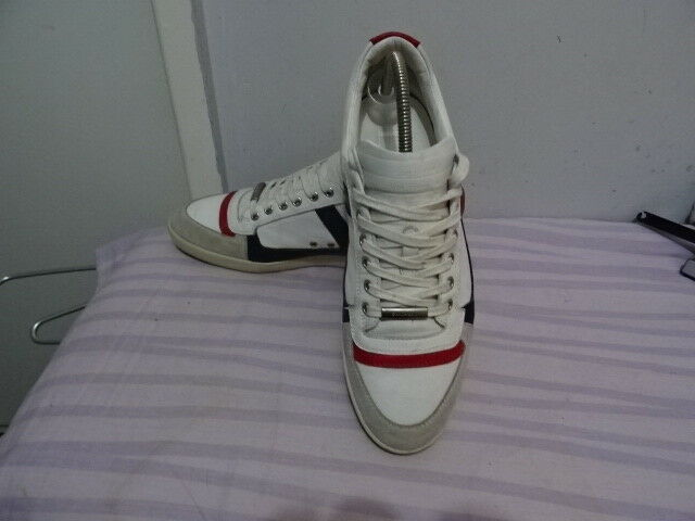 Men Dior Homme Made in  Multi Suede Leather Lace-up Sneakers sz UK 6  EU 40