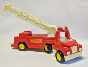 My-First-Tonka-Trucks-039-n-trailers-321-Fire-Department-1990-EXTREMELY-RARE