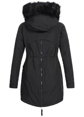 Outerwear Jacke Parka Softy 50161132 Off Damen Schwarz 58 Winter Baumwolle qxwvgF0p