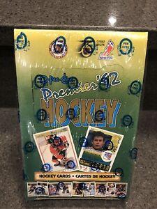1-1992-O-Pee-Chee-Premier-Hockey-NHL-Factory-Sealed-Box-36-Packs-Wayne-Gretzky