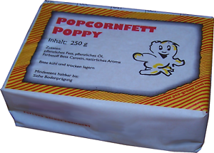 250 G Popcornfett (2,60 €/100 G), Pop-corn Beurre, Popcornfett, Popcornöl, Kokosfett-opcornbutter,popcornfett,popcornöl,kokosfett Fr-fr Afficher Le Titre D'origine Prix Fou