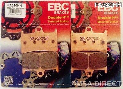 YAMAHA YZF R6 1999 /> 2005 BREMBO SC SINTERED BRAKE PADS 2 SETS RACING