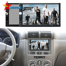 7'' Double 2DIN Car DVD GPS Navigation Player Touch Screen Stereo Radio + Camera