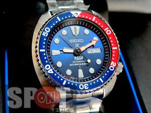 Seiko Prospex Padi Turtle Marine Master Limited Diver Men S Watch