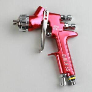Hvlp Spray Gun Devilbiss Gfg Professional Car Paint Gun 1 3mm Nozzle 600ml Pot